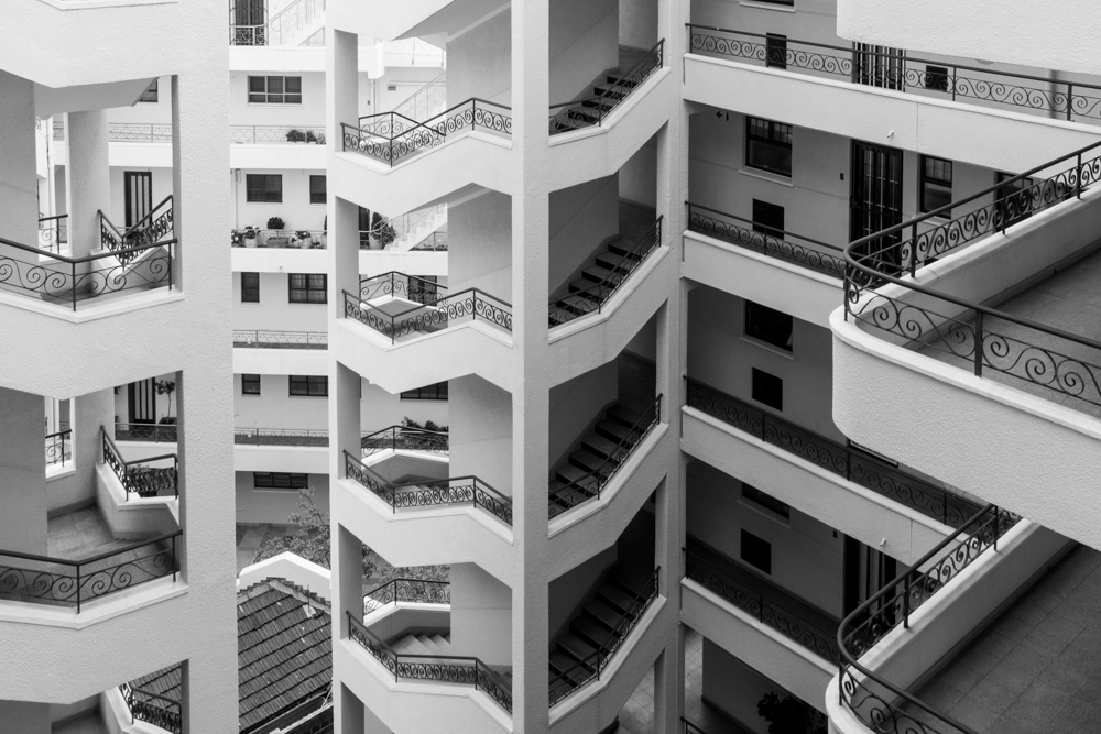 Apartment Block, Sea Point, Cape Town